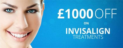 Invisalign Offers London - £1000 OFF