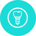 Dental Implants Icon - Camden Dental Practice