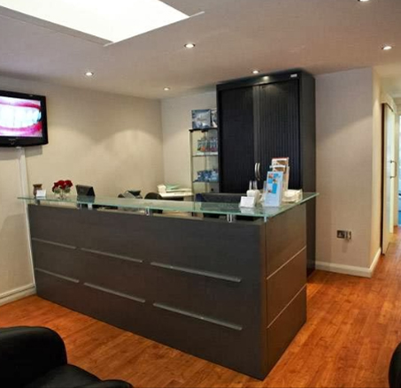 Reception - Camden High Street Dental Practice