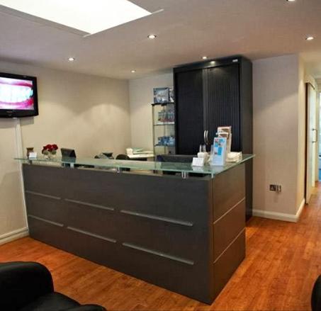 Reception - Camden High Street Dental Practice