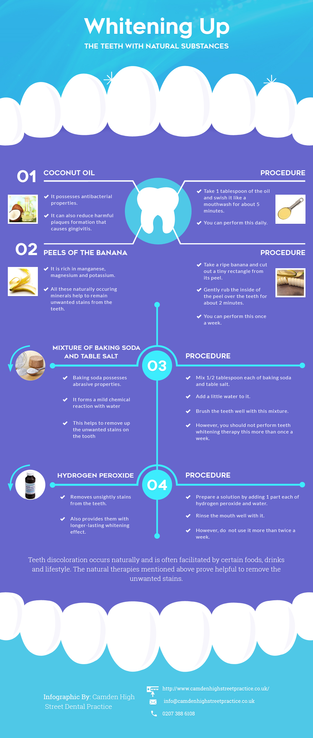 Most Effective Natural Substances for Teeth Whitening